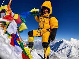 Дава Янгзум Шерпа стала первой женщиной из Непала, которая поднялась на восьмитысячник Макалу!