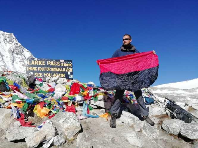 """Виталий Дячук на Большом Гималайском Пути """"Great Himalaya Trail"""". Фото Виталий Дячу"""