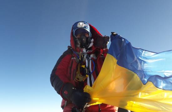 Оксана Литинская на Эвересте. 22 мая 2019 года. Фото Оксана Литинская