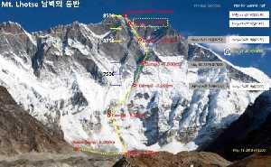 Южная стена Лхоцзе: Сунг Таек Хонг начинает финальную попытку штурма вершины