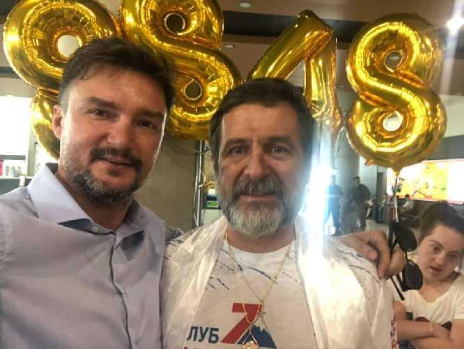 Роман Старикович и Евгений Старосельский (справа). Фото Роман Старикович