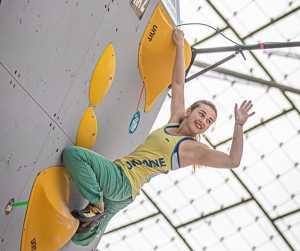 Спортсменка из Днепра Евгения Казбекова - 10-я в итоговом рейтинге Кубка Мира по боулдерингу