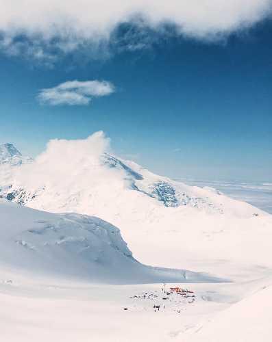 Базовый лагерь Денали. Фото Алексей Баланцев