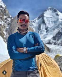 14 восьмитысячников за 7 месяцев: Нирмал Пуржа Совершает восхождения на Гашербрум I и Гашербрум II