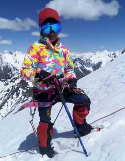 10-летняя девочка из Пакистана установила еще один рекорд в альпинизме, поднявшись на вершину горы Спантик высотой 7027 метров