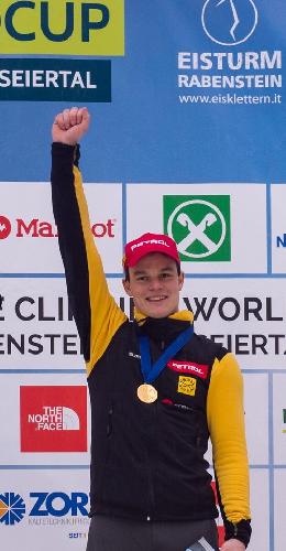 Янеж Свольшак (Janez Svoljsak) - чемпион Европы по ледолазанию