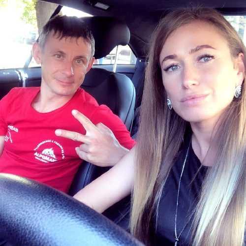 Валентин Сипавин и Ирина Галай