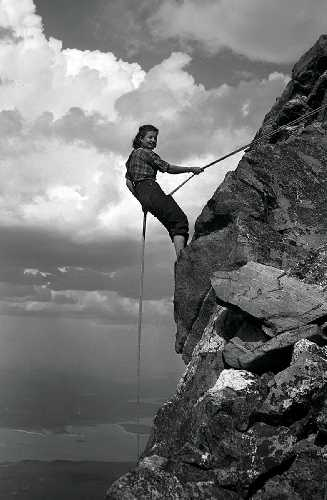 """1930-е: Мардж Фаркер - """"Сильная как Лхоцзе"""""""