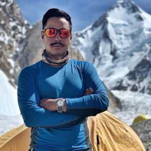 Нирмал Пуржа раздумывает о восхождении зимой на восьмитысячник К2
