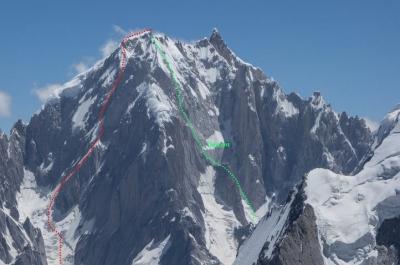 Американские альпинисты совершили первовосхождение на пакистанскую вершину Линк Сар (Link Sar) выстой 7041 метров
