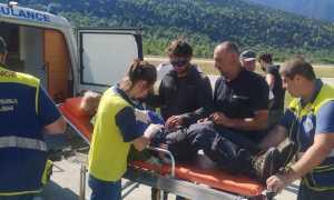 На горе Ушба в Грузии травмировались два украинских альпиниста