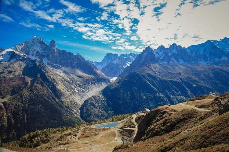 Массив Монблан. Фото FB Chamonix-Mont-Blanc