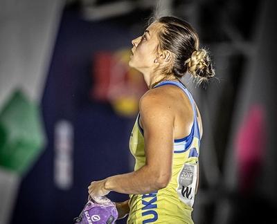 Чемпионат Мира по скалолазанию: Евгения Казбекова единственная представительница Украины в многоборье!