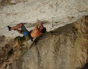 Испанец Джонатан Флёр открывает уже второй маршрут категории 9b: