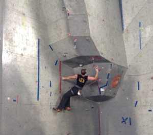 В Кременчуге состоится студенческий чемпионат Украины по скалолазанию