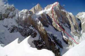 Американская команда планирует открыть новый, сложный маршрут на пакистанской вершине Пумари Чхиш Южная (7350 м)