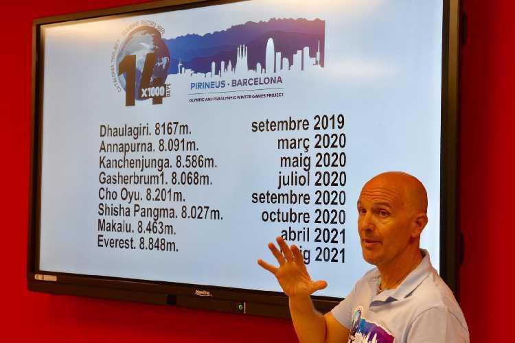 """Сержи Минготе (Sergi Mingote) представил 7 сентября свой уникальный и весьма амбициозный проект: """"14x1000"""""""