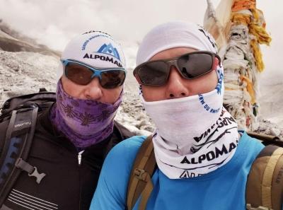Харьковские альпинисты совершили бескислородное восхождение на вершину восьмитысячника Манаслу