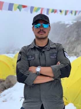 14 восьмитысячников за 7 месяцев: Нирмал Пуржа прибыл в базовый лагерь восьмитысячника Манаслу