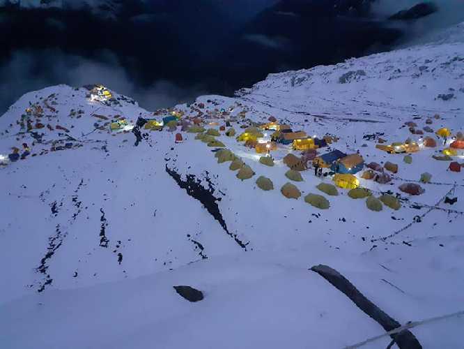 Базовый лагерь восьмитысячника Манаслу