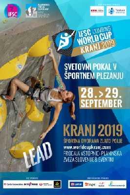 Этап Кубка Мира по скалолазанию в Крани: от Украины выступят 3 спортсмена