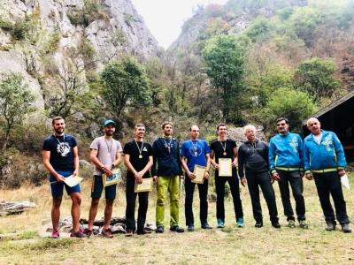 Одесситы стали чемпионами Украины по альпинизму в скальном классе