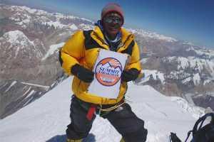 Непальский альпинист Сану Шерпа (Sanu Sherpa) завершил сложнейшую программу