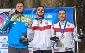 Даниил Болдырев - серебряный призер Чемпионата Европы по скалолазанию
