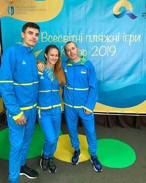 Украинские скалолазы примут участие в первых Всемирных пляжных играх