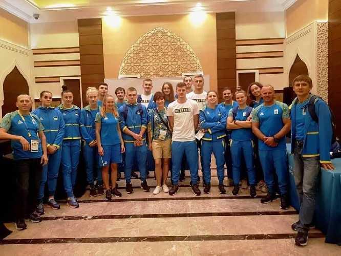сборная Украины, которая будет представлять нашу страну в 7 видах спорта и 8 дисциплинах в первых Всемирных пляжных играх