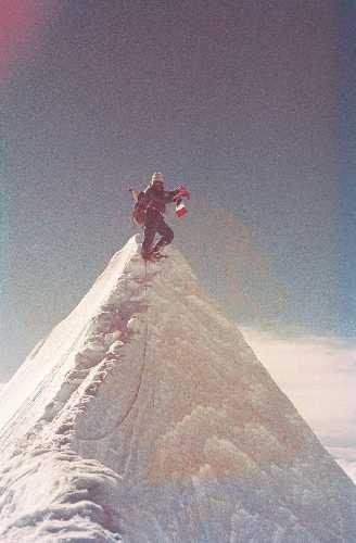 В 1962 Роберт совершает восхождение на Жанну (7710м, Непал)