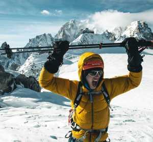 Йошт Кобуш совершает первое в истории восхождение на непальскую вершину Амотсанг высотой 6939 метров