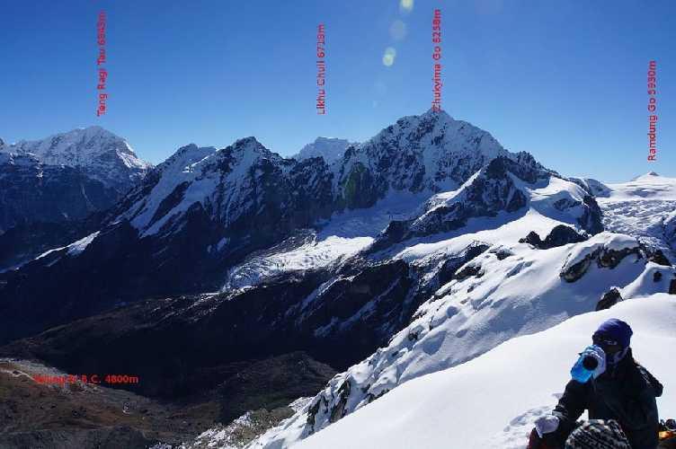 Чукима-Го (Chukyma Go, 6259 м)