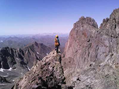 Украинские альпинисты открыли новый маршрут на грузинской вершине Абудалаурис Чаухи (3845 м)