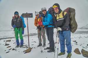 Украинские туристы впервые попытались подняться на восьмитысячник Гималаев в рамках спортивного похода