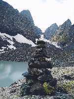"""новый маршрут """" МИФ"""" на вершину Абудалаурис Чуахи (3845 м) . Фото Владимир Рошко"""