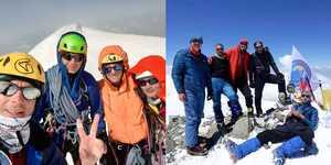 Киевляне и харьковчане - чемпионы Украины по альпинизму в высотном и техническом классах