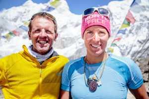 Симоне Моро и Тамара Лунгер планируют первый в истории альпинизма зимний траверс двух восьмитысячников: Гашербрум I и Гашербрум II