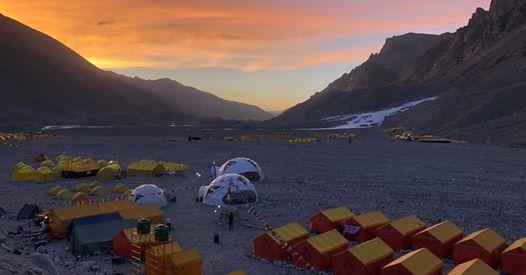 Базовый лагерь Эвереста. Фото Furtenbach Adventures