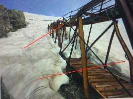 Подход к леднику Тула