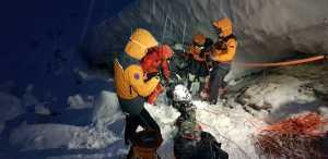 Подробности и фото трагедии с украинскими альпинистами в словацких Татрах