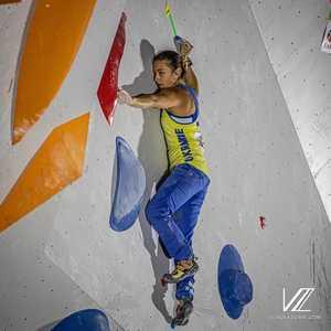 Олимпийский отбор по скалолазанию в Тулузе: украинка Евгения Казбекова остановилась на 20 месте