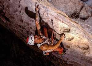 Эду Марин открывает самый сложный скалолазный маршрут в Китае:
