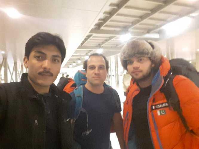 Винсент Саура (Vincent Saura), Джонатан Борд (Jonathan Bordes) в Исламабаде