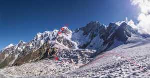 Первопрохождение на пик Шота Руставели от украинских альпинистов