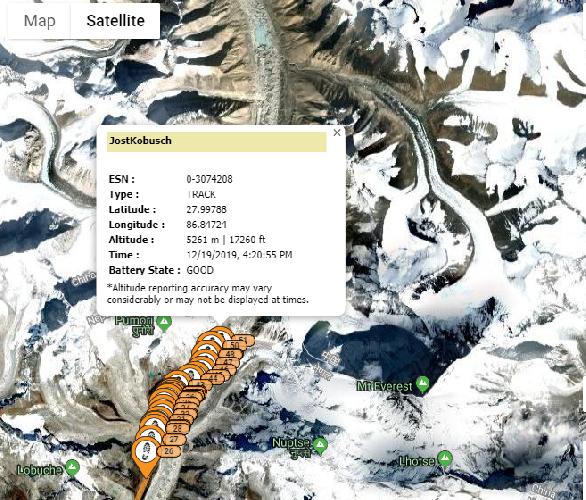 Треккинг команды Йошта Кобуша к базовому лагерю Эвереста