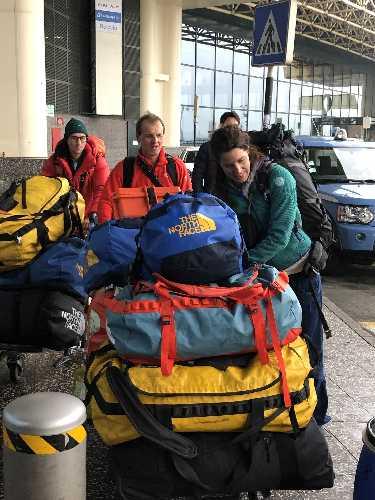 Тамара Лунгер и Симоне Моро отправляются в Пакистан