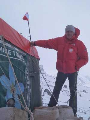 Зимняя экспедиция Дениса Урубко на Броуд-Пик: работа над маршрутом к первому высотному лагерю
