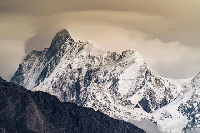 Каракорум зимой. Фото Tamara Lunger