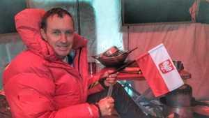 Зимняя экспедиция Дениса Урубко на Броуд-Пик: ночевка в первом высотном лагере